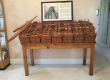 Model lumber raft